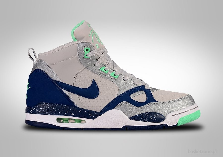 NIKE AIR FLIGHT '13 MINT DUSTY GREY