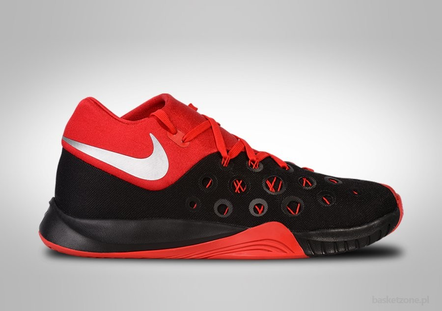 grossiste 949d7 e7d73 NIKE ZOOM HYPERQUICKNESS 2015 BLACK FIRE RED price €77.50 ...